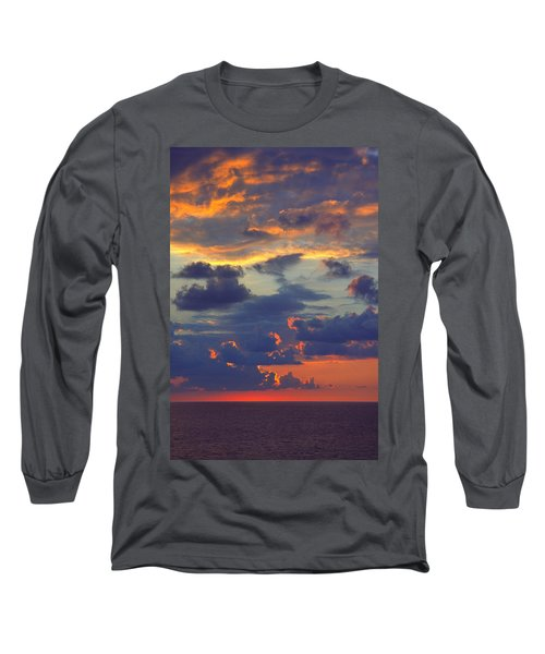 Mediterranean Sky Long Sleeve T-Shirt
