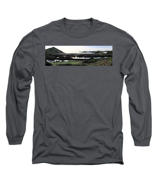 Long Sleeve T-Shirt featuring the photograph Mediterranean View by Pedro Cardona