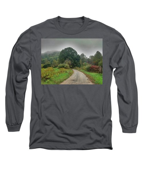 Long Sleeve T-Shirt featuring the photograph Mills Ridge by Janice Spivey