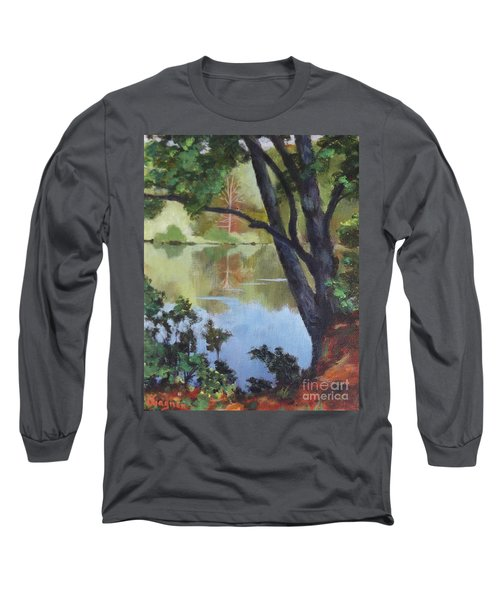 Mirror Reflection Long Sleeve T-Shirt