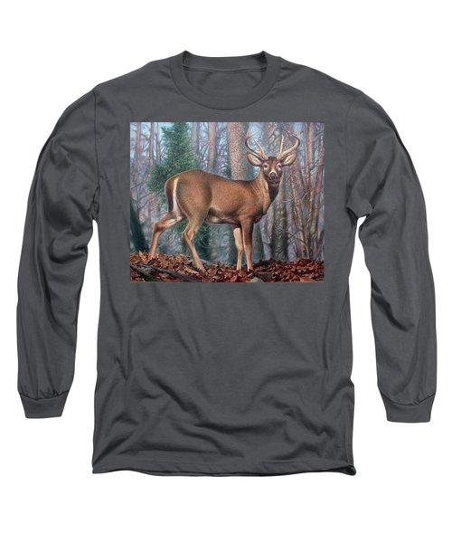 Missouri Whitetail Deer Long Sleeve T-Shirt