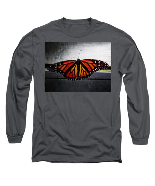 Long Sleeve T-Shirt featuring the photograph Monarch by Julia Wilcox