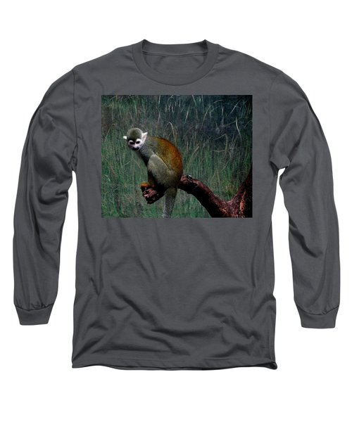 Monkey Long Sleeve T-Shirt by Maria Urso
