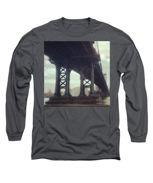 Motion Blur Long Sleeve T-Shirt