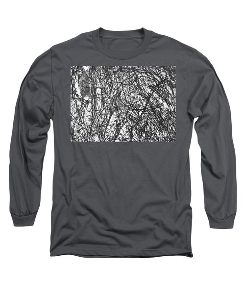 Motor Neuron Of Cat Long Sleeve T-Shirt