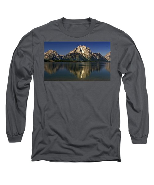 Long Sleeve T-Shirt featuring the photograph Moujnt Moran 5 by Marty Koch