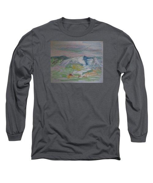 Mount Desert Back Side Long Sleeve T-Shirt