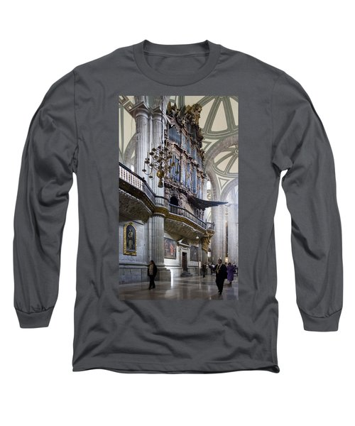 Music On High Long Sleeve T-Shirt by Lynn Palmer