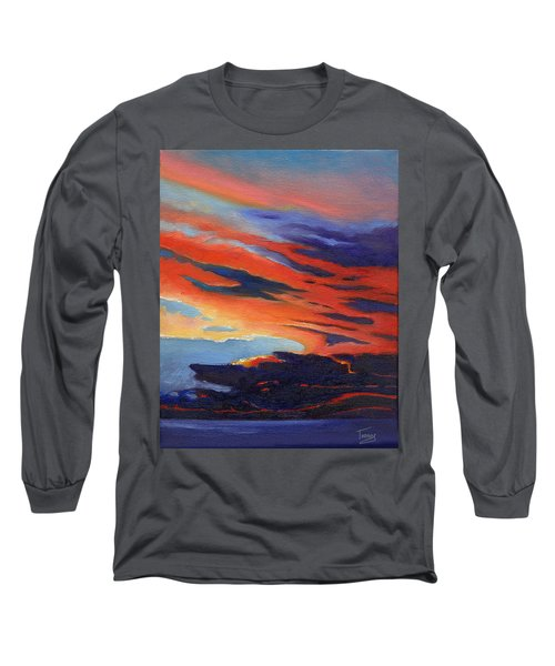 Natural Light Long Sleeve T-Shirt by Catherine Twomey