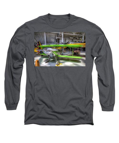 Neon Green Long Sleeve T-Shirt