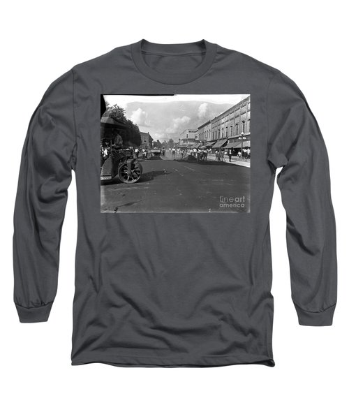 No More Dirt Streets Long Sleeve T-Shirt