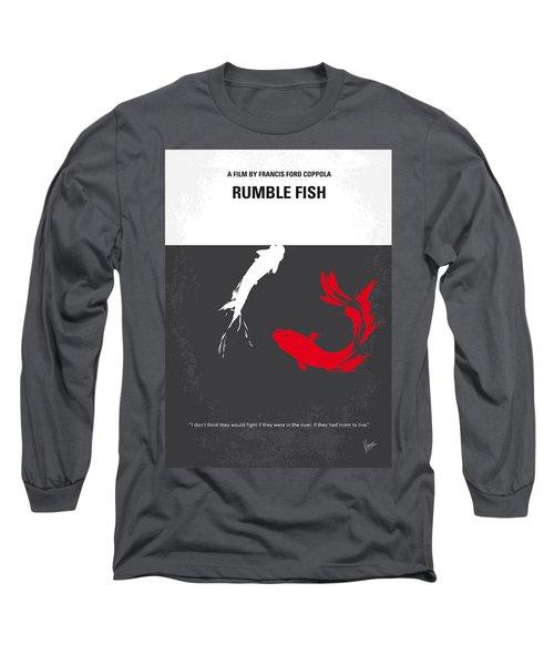 No073 My Rumble Fish Minimal Movie Poster Long Sleeve T-Shirt
