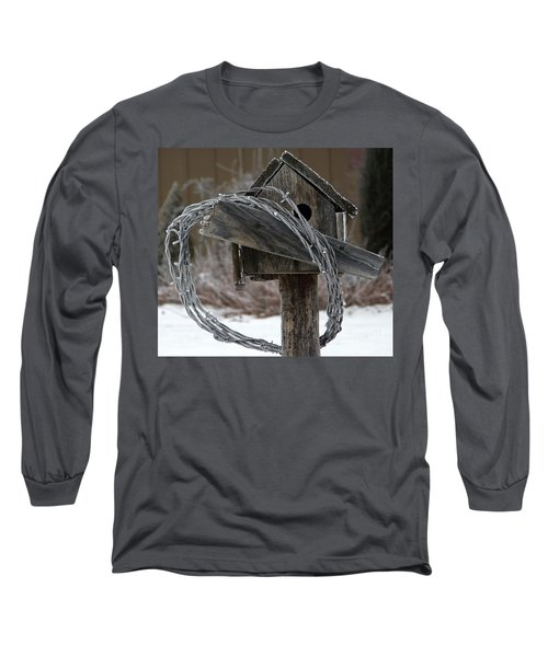 Nobody Home Long Sleeve T-Shirt by Dorrene BrownButterfield