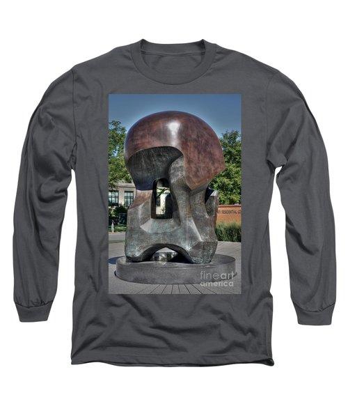 Nuclear Energy Long Sleeve T-Shirt by David Bearden