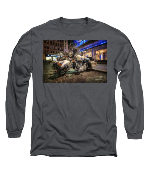 Nypd Bikes Long Sleeve T-Shirt