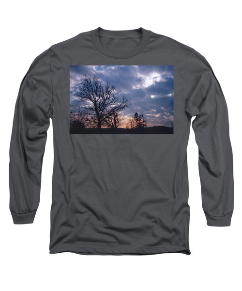 Oak In Sunset Long Sleeve T-Shirt
