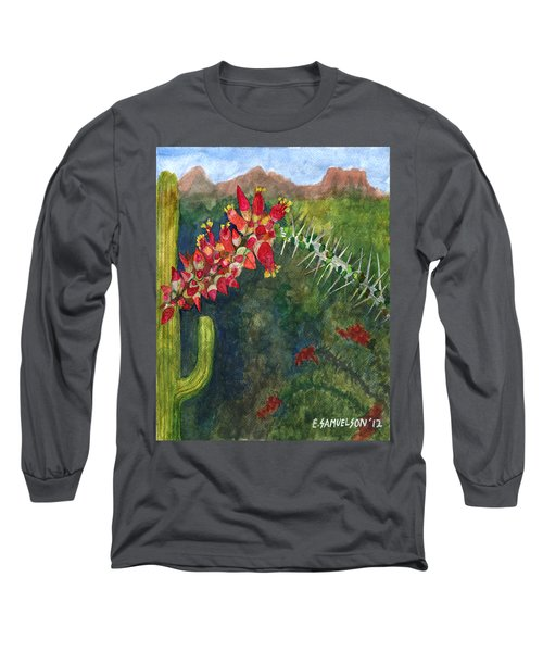 Ocotillo Spring Long Sleeve T-Shirt