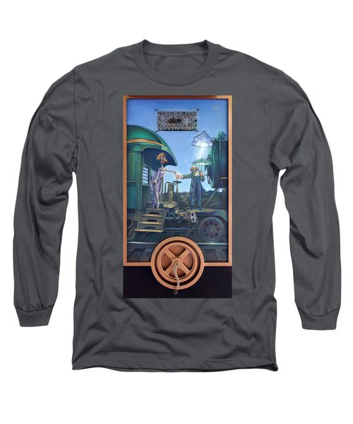 Of Thee I Sing The Body Electric Long Sleeve T-Shirt