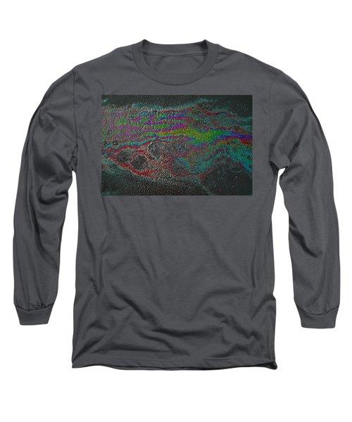 Oil On Pavement Summoning Spirit Long Sleeve T-Shirt