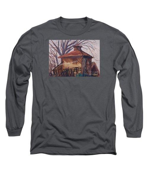 Old Garage Long Sleeve T-Shirt