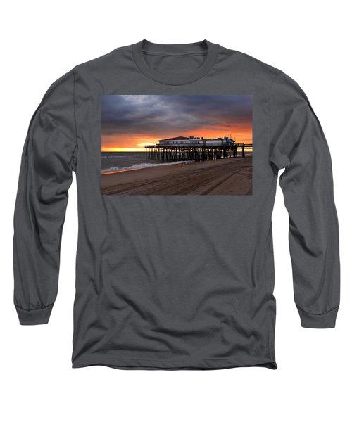 Old Jennettes Pier Long Sleeve T-Shirt