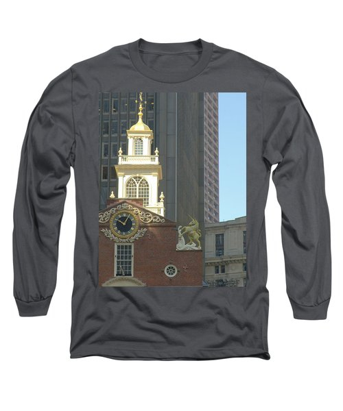 Old South Meeting House Long Sleeve T-Shirt by Bruce Carpenter