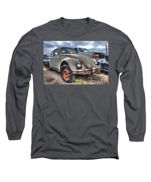 Old Vw Beetle Long Sleeve T-Shirt