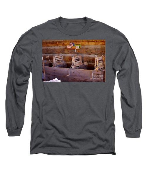 Long Sleeve T-Shirt featuring the photograph Old West 2 by Deniece Platt
