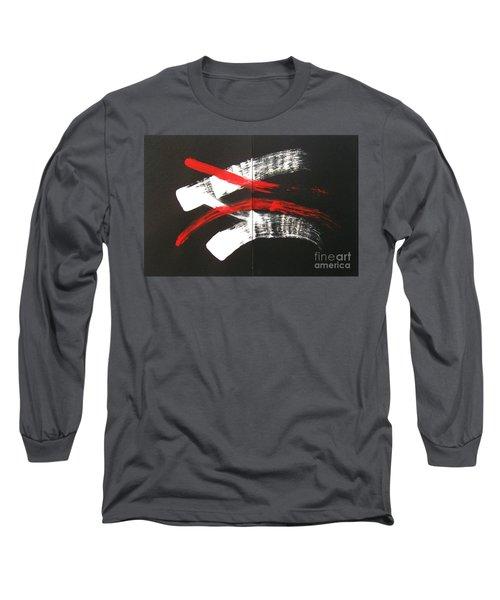 Omoide Wa Nai  Anata Wa Long Sleeve T-Shirt by Roberto Prusso