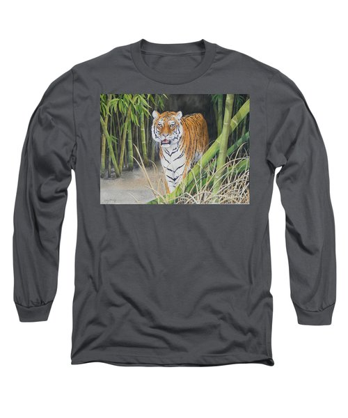 On The Prowl  Sold Prints Available Long Sleeve T-Shirt