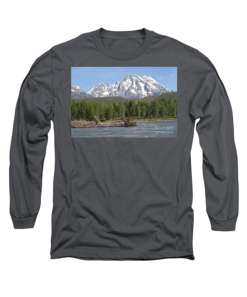 On The Snake River Long Sleeve T-Shirt by Living Color Photography Lorraine Lynch