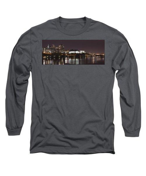 Ottawa Skyline Long Sleeve T-Shirt by Eunice Gibb
