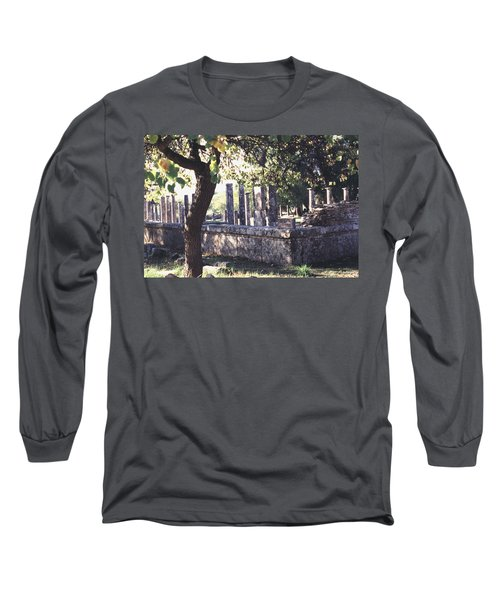 Palestra Olympic Site Greece Long Sleeve T-Shirt