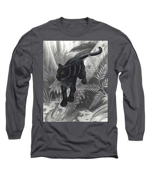 Panther By The Water Long Sleeve T-Shirt