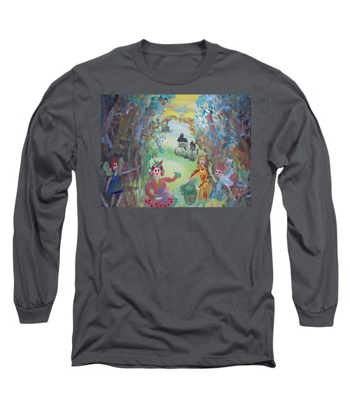 Panto Time Long Sleeve T-Shirt by Judith Desrosiers