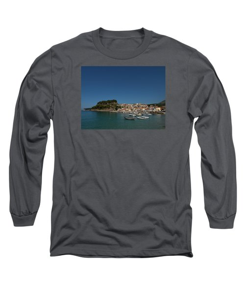 Parga  Long Sleeve T-Shirt by Jouko Lehto