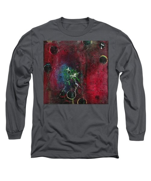 Long Sleeve T-Shirt featuring the painting Passion 1 by Nicole Nadeau