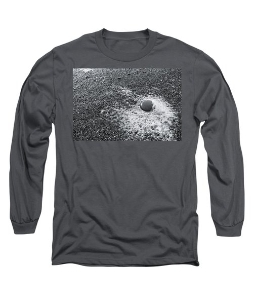 Pebble On Foam Long Sleeve T-Shirt