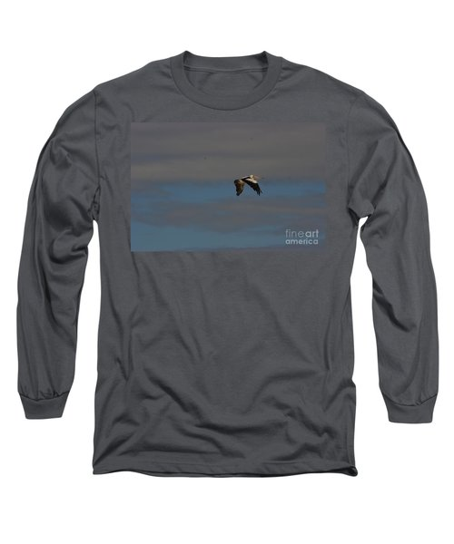 Long Sleeve T-Shirt featuring the photograph Pelican In Flight 4 by Blair Stuart