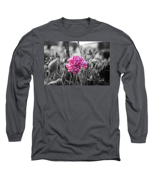 Pink Carnation Long Sleeve T-Shirt
