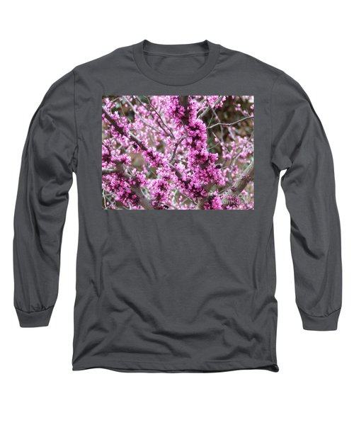 Long Sleeve T-Shirt featuring the photograph Pink Flower by Andrea Anderegg