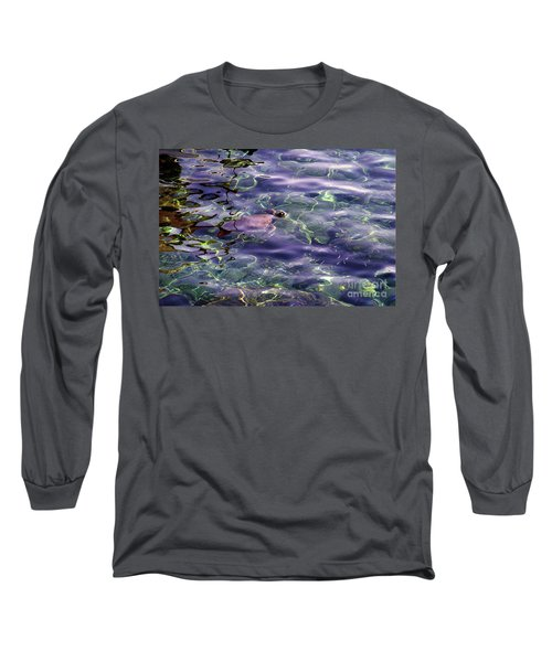 playing at Crete Long Sleeve T-Shirt