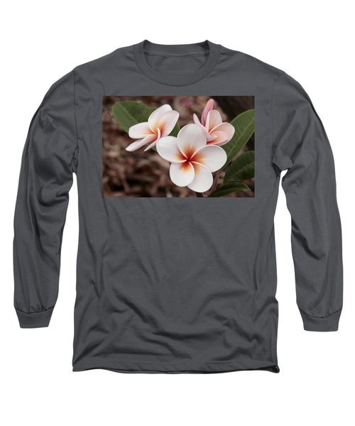 Plumeria   Kona Hawii Long Sleeve T-Shirt