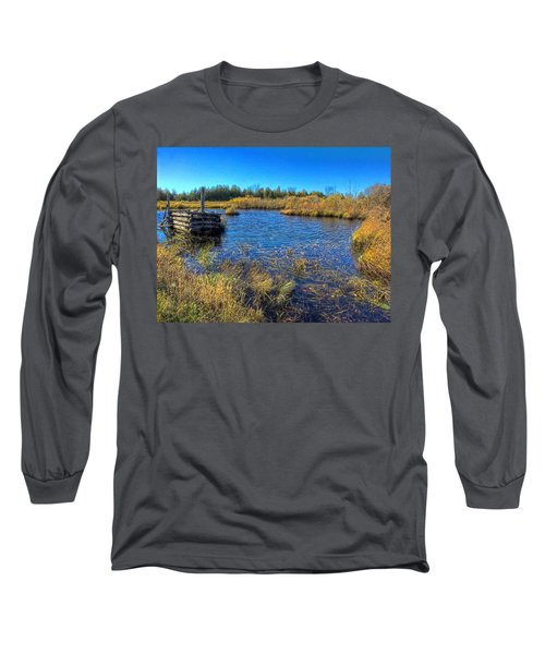 Pond 1 Today.psd Long Sleeve T-Shirt
