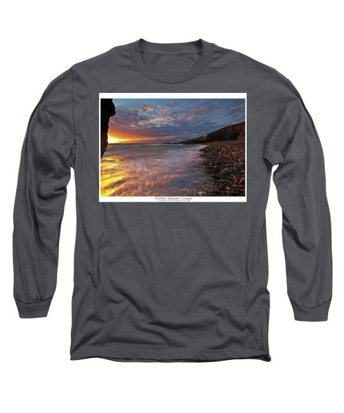Porth Swtan Cove Long Sleeve T-Shirt