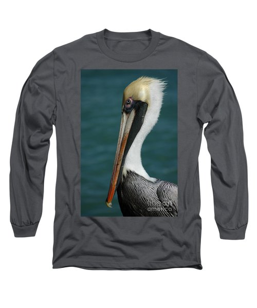 Long Sleeve T-Shirt featuring the photograph Posing For The Tourists by Vivian Christopher