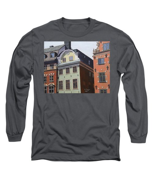 Pretty Faces Long Sleeve T-Shirt by Alan Mager