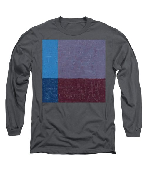 Purple And Blue Long Sleeve T-Shirt
