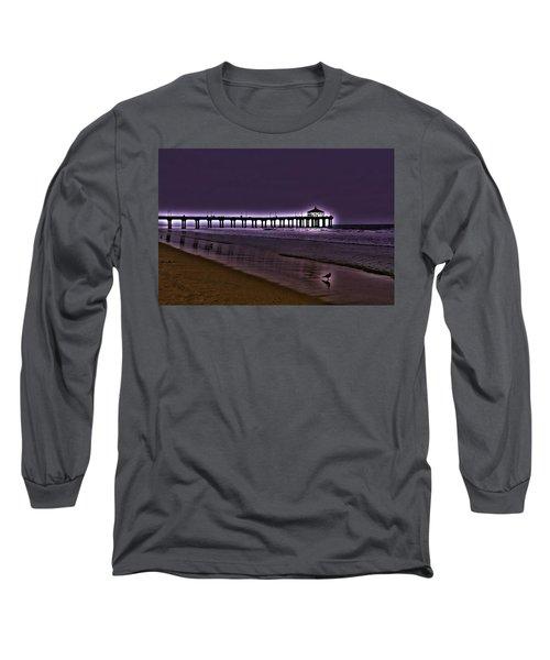 Purple Dawn Long Sleeve T-Shirt