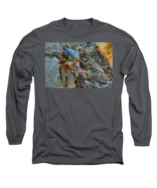 Rainbow Crab Long Sleeve T-Shirt